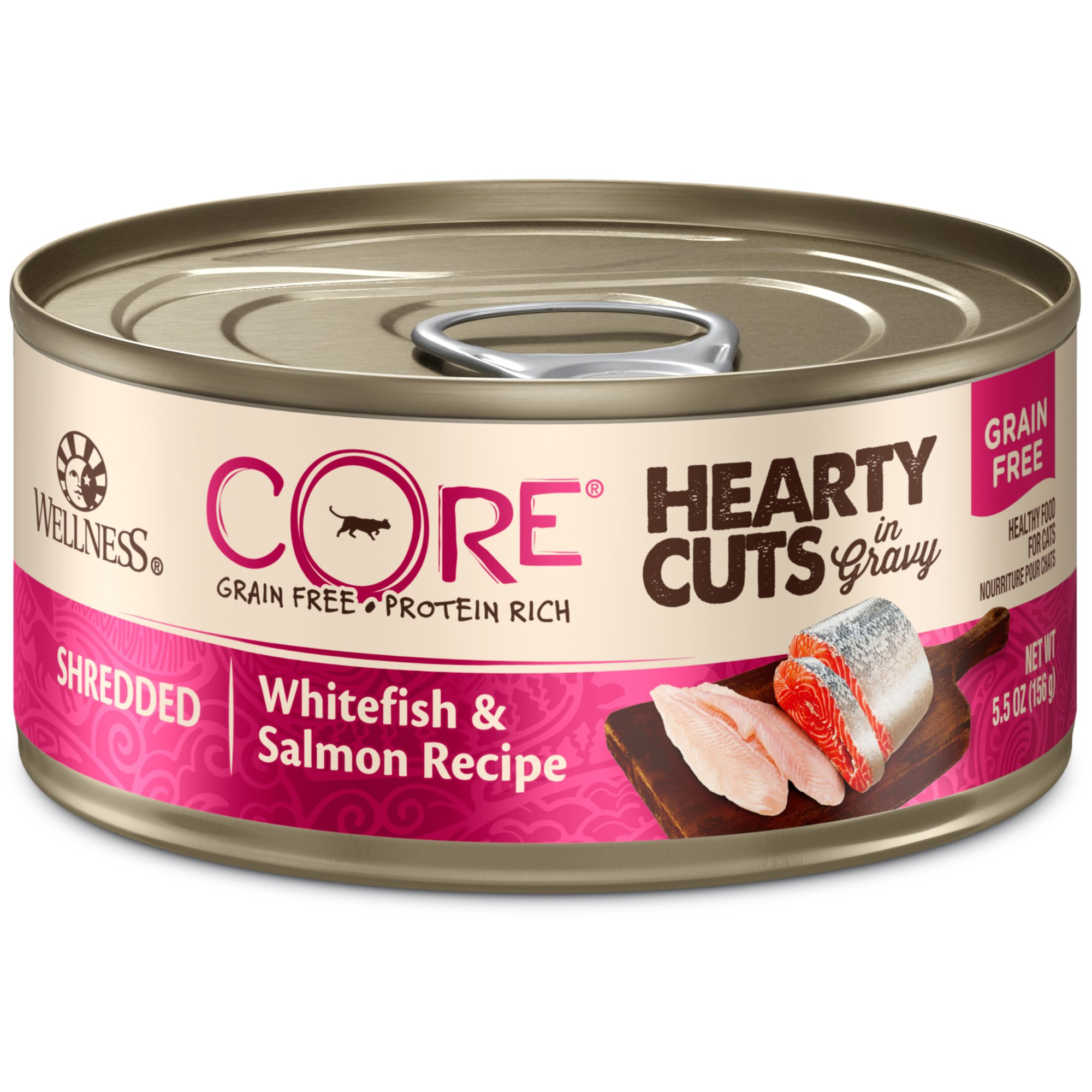 Wellness Core Hearty Cuts Natural Grain Free Whitefish