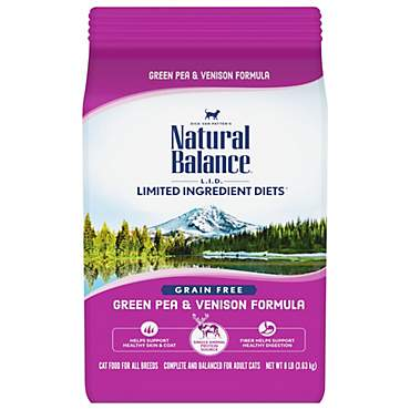Natural Balance L.I.D. Limited Ingredient Diets Green Pea & Venison Dry Cat Food