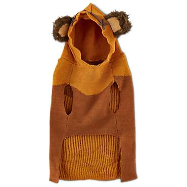 STAR WARS Ewok Dog Sweater with Knit Hoodie