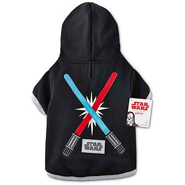 Star Wars Light Up Lightsaber Dog Hoodie
