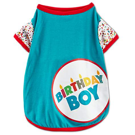 You & Me Birthday Boy T-Shirt for Dogs