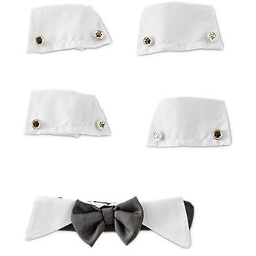 You & Me Dog Bow Tie & Cuff Set