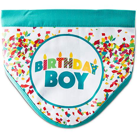 You & Me Birthday Boy Dog Bandana