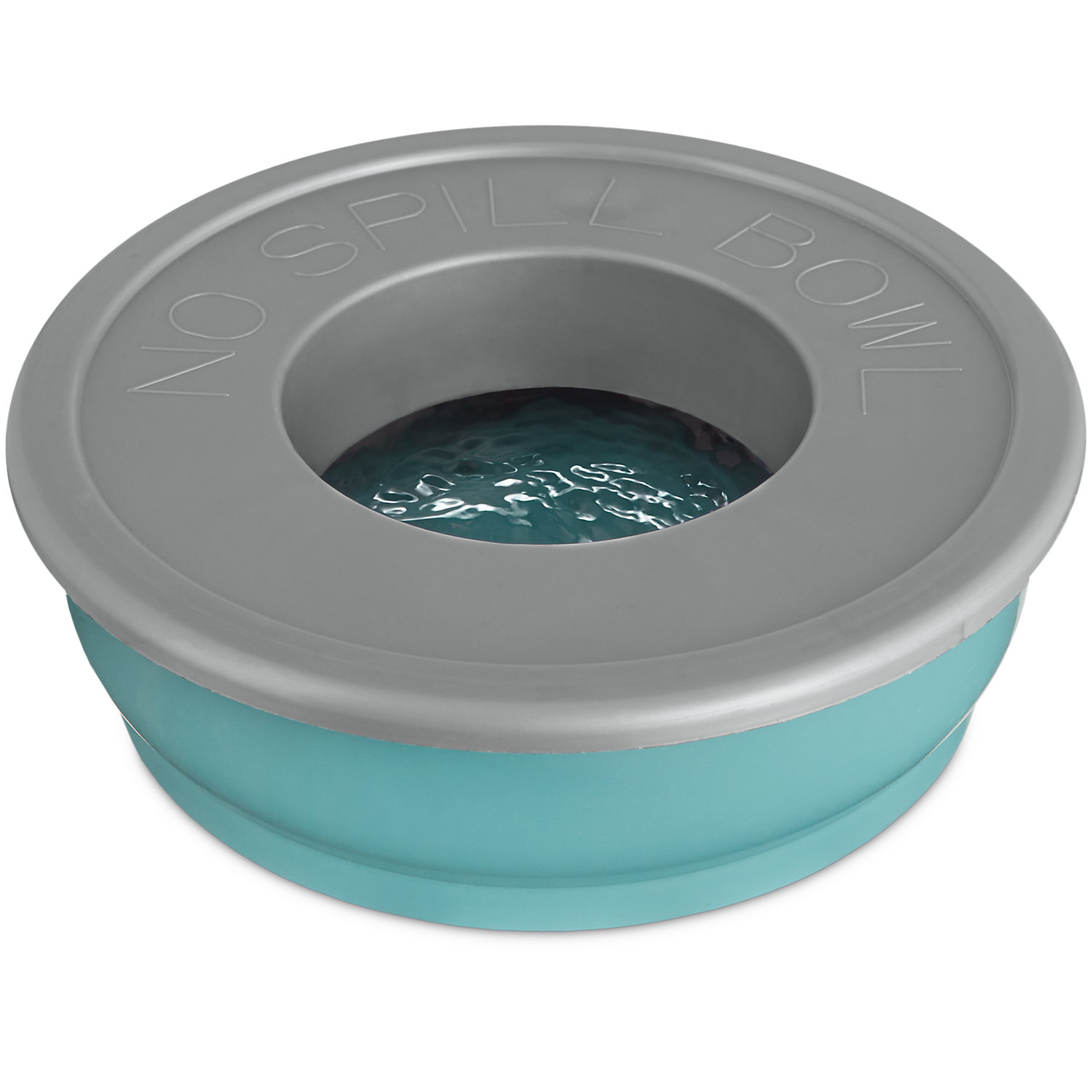 Good2go Blue No-spill Dog Bowl, One Size Fits All