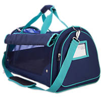 Good2Go Ultimate Pet Carrier in Blue and Turquoise
