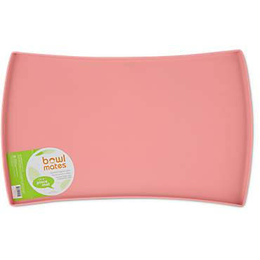 Bowlmates Pink Silicone Placemat