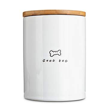 Harmony Good Dog Ceramic Dog Treat Jar