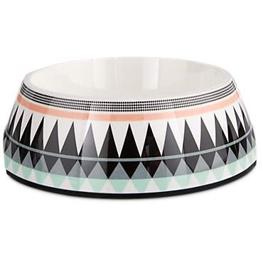 Bowlmates Aztec Print Single Round Base