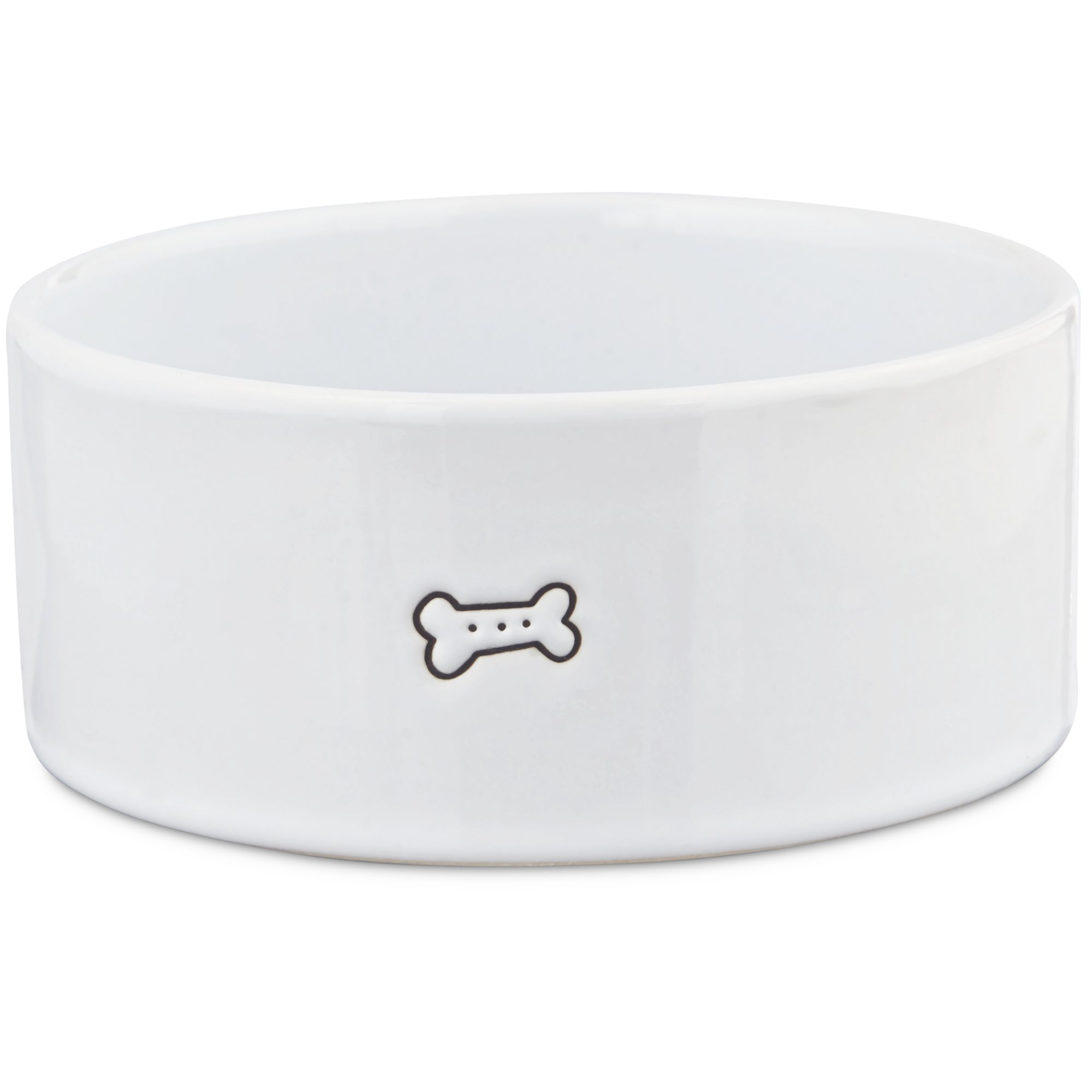 Harmony Good Dog Ceramic Dog Bowl Petco