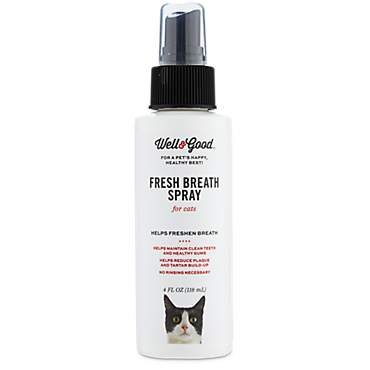 Well & Good Fresh Breath Spray for Cats