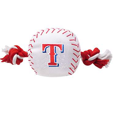 Pets First MLB Texas Rangers Baseball Toy