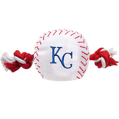 Pets First MLB Kansas City Royals Baseball Toy
