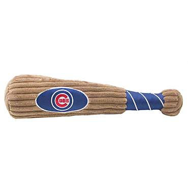 Pets First MLB Chicago Cubs Baseball Bat Toy