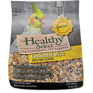 Healthy Select Natural Cockatiel Diet
