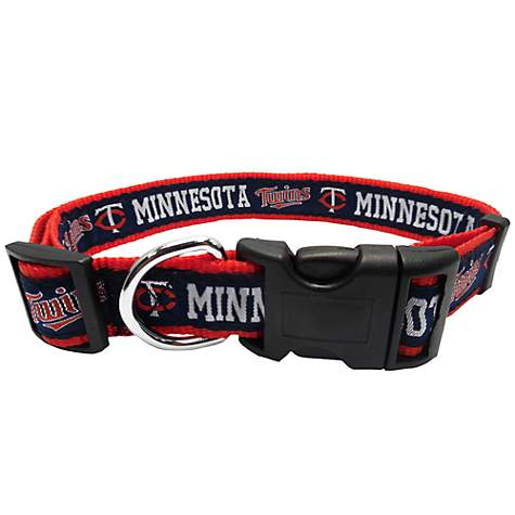 Pets First Minnesota Twins MLB Dog Collar