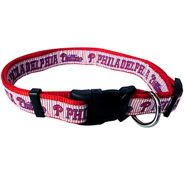 Pets First Philadelphia Phillies MLB Dog Collar