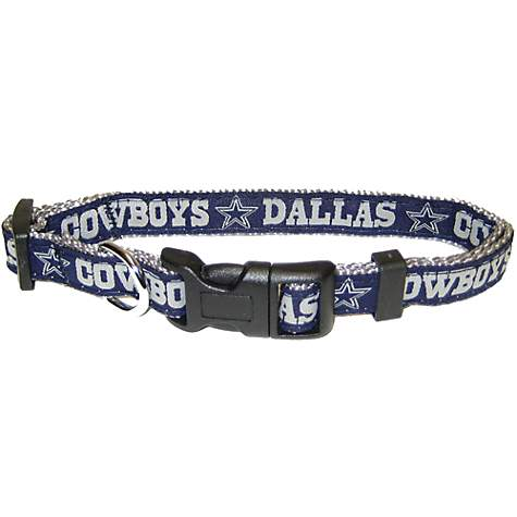 8734d0afb Pets First Dallas Cowboys NFL Dog Collar | Petco