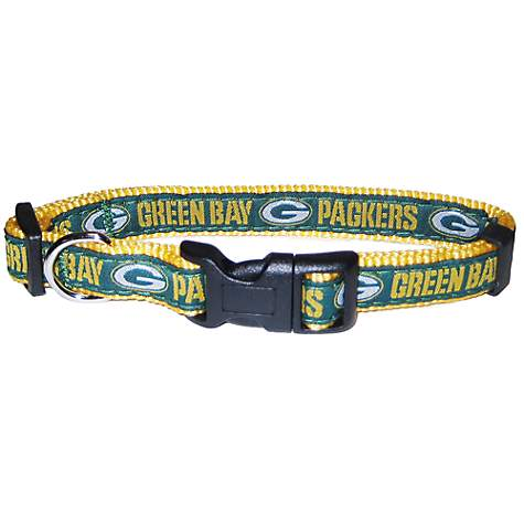 8376baffd64 Pets First Green Bay Packers NFL Dog Collar | Petco