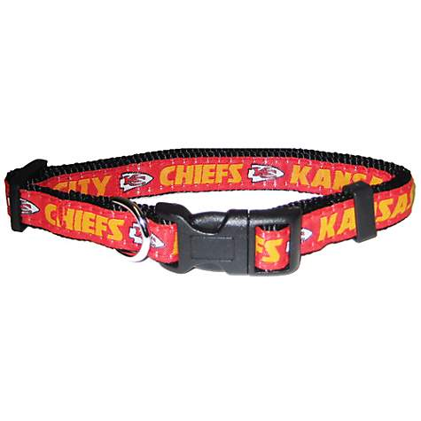 Pets First Kansas City Chiefs NFL Dog Collar