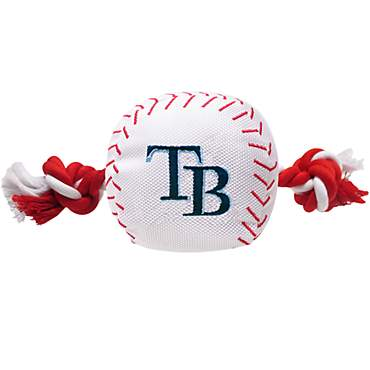 Pets First MLB Tampa Bay Rays Baseball Toy