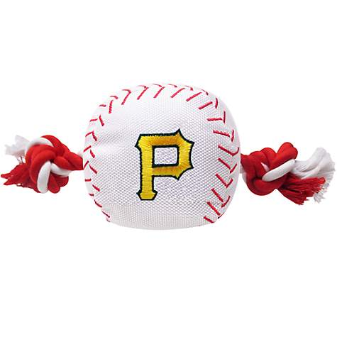Pets First MLB Pittsburgh Pirates Baseball Toy
