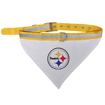 Pets First Pittsburgh Steelers Collar Bandana