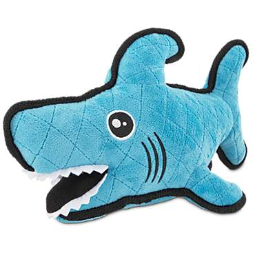Leaps & Bounds Playtime Pal Tough Shark Dog Toy