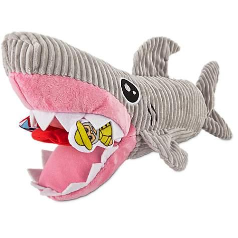 Leaps Bounds Plush Puzzle Foraging Plush Shark Dog Toy Petco
