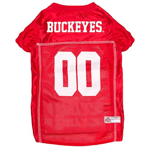 quality design 2bfce 41b59 Pets First Ohio State Buckeyes NCAA Mesh Jersey for Dogs, X-Small