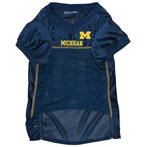 Pets First Michigan Wolverines Mesh Jersey | Petco