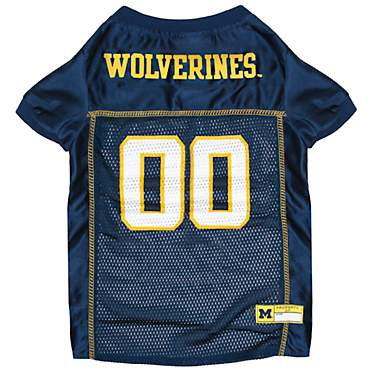 Pets First Michigan Wolverines Mesh Jersey