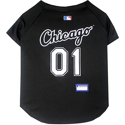Pets First Chicago White Sox MLB Mesh Jersey, Medium