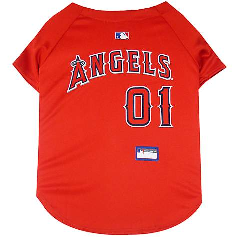 Pets First Los Angeles Angels MLB Mesh Jersey