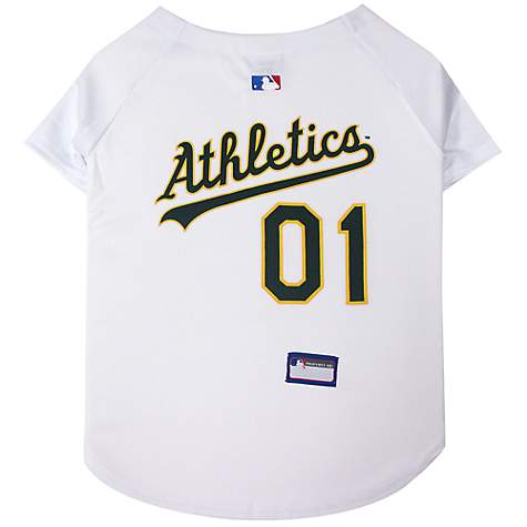 Pets First Oakland Athletics MLB Mesh Jersey