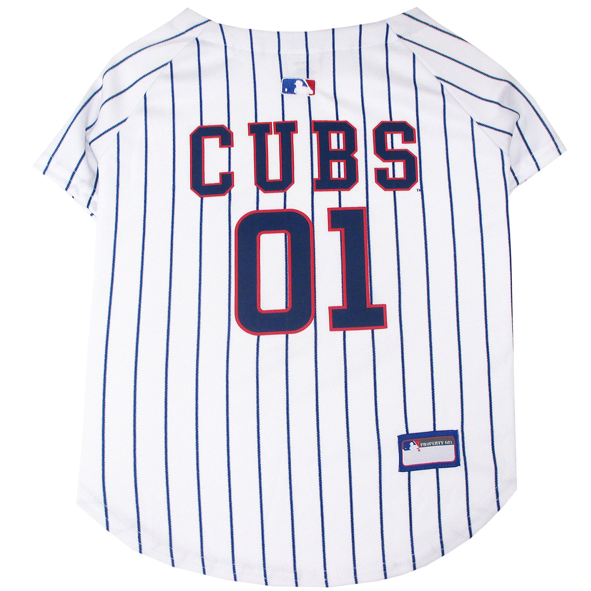 new arrival cd8cd 8a57b Pets First Chicago Cubs MLB Mesh Jersey, X-Small | Petco