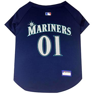 Pets First Seattle Mariners MLB Mesh Jersey