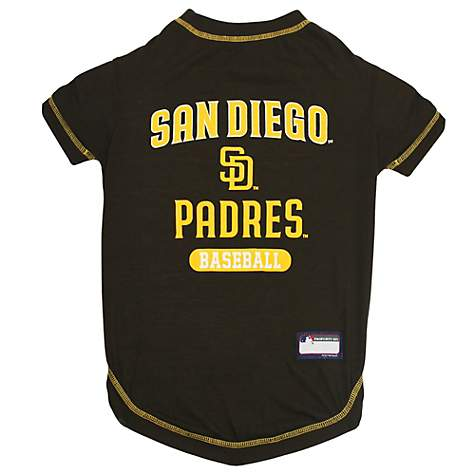 new product f2098 fac57 Pets First San Diego Padres T-Shirt, Medium