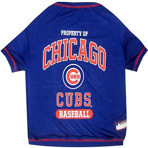 buy popular ae4a2 e314c Pets First Chicago Cubs T-Shirt, X-Small