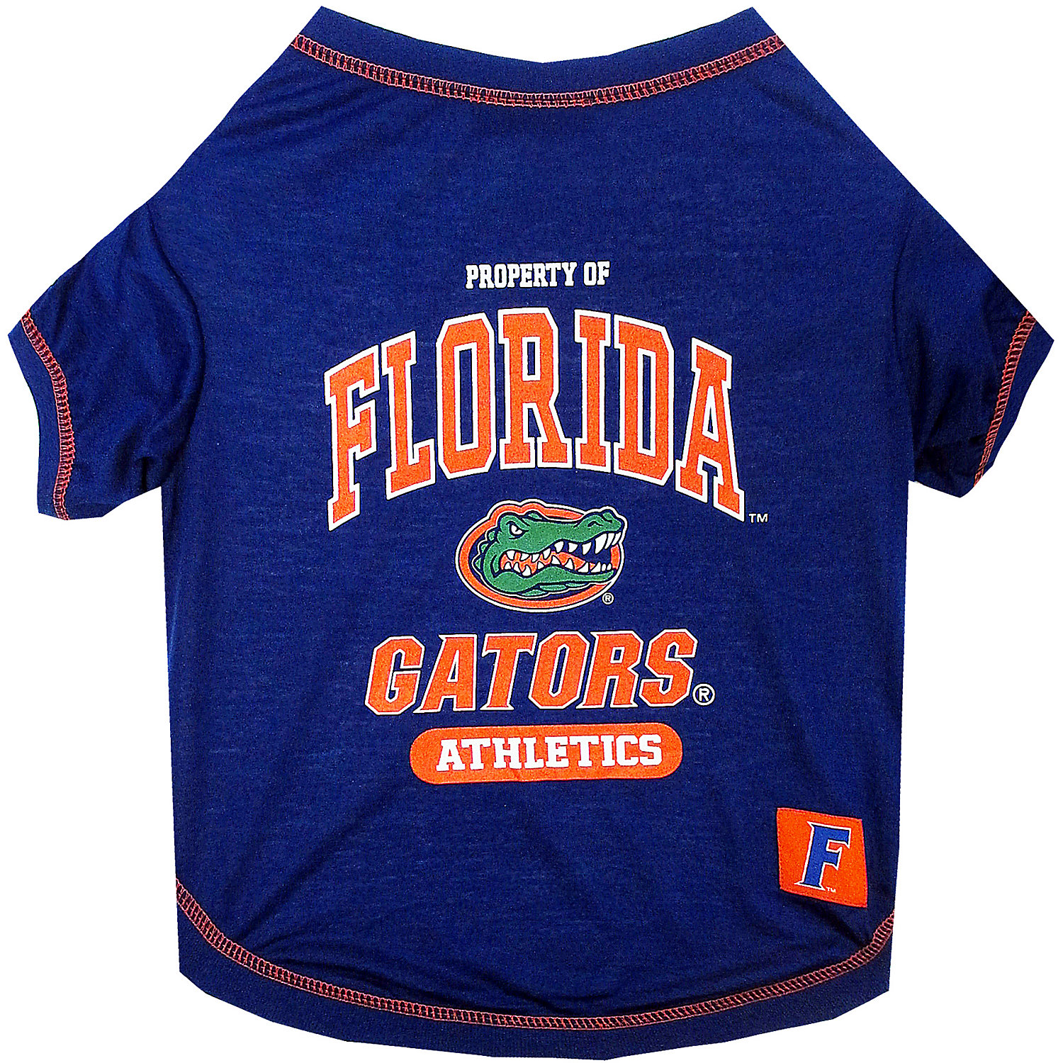 Pets First Florida Gators Ncaa T-shirt For Dogs, Small, Multi-color