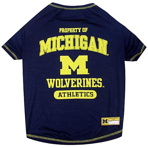 timeless design 238fc 682e1 Pets First Michigan Wolverines T-Shirt   Petco