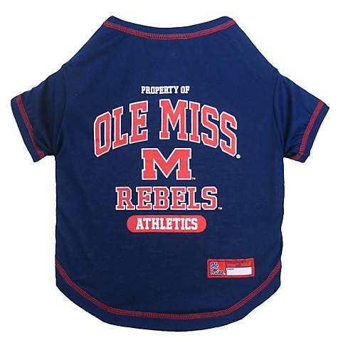 Pets First Ole Miss Rebels T-Shirt
