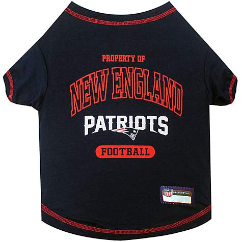 d0396a4a Pets First New England Patriots T-Shirt, X-Small