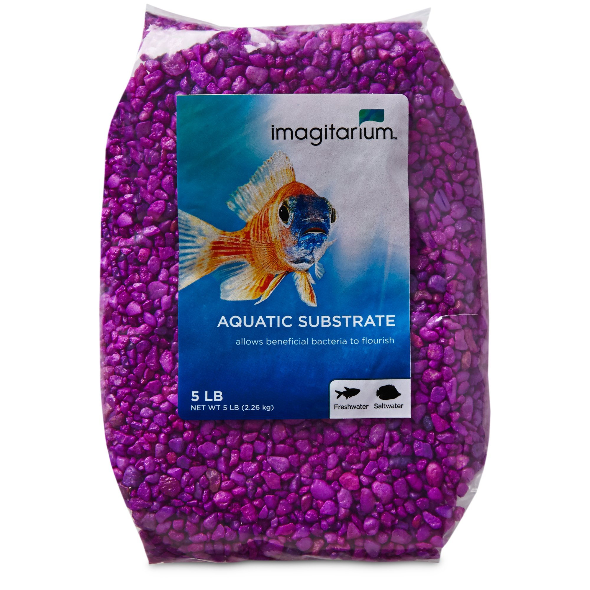 Imagitarium Neon Purple Aquarium Gravel | Petco