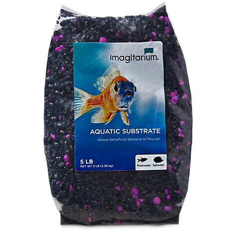 Imagitarium Purple Punk Aquarium Gravel