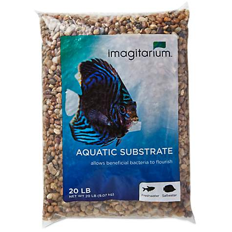 Imagitarium River Rock Shallow Creek Aquarium Gravel