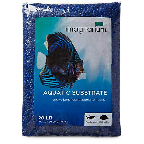 Imagitarium Dark Blue Aquarium Gravel