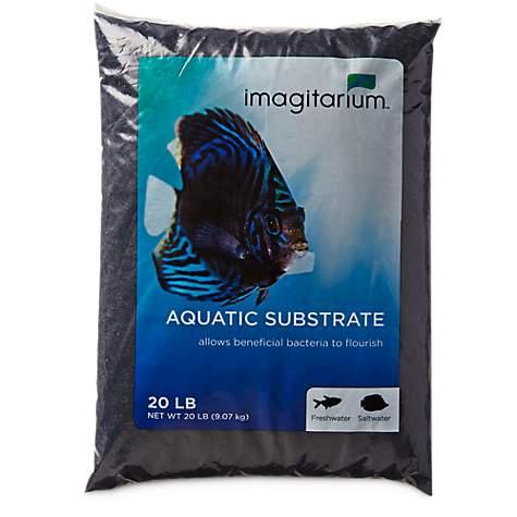 Imagitarium Black Aquarium Sand Petco