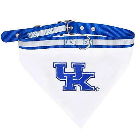Pets First Kentucky Wildcats Collar Bandana