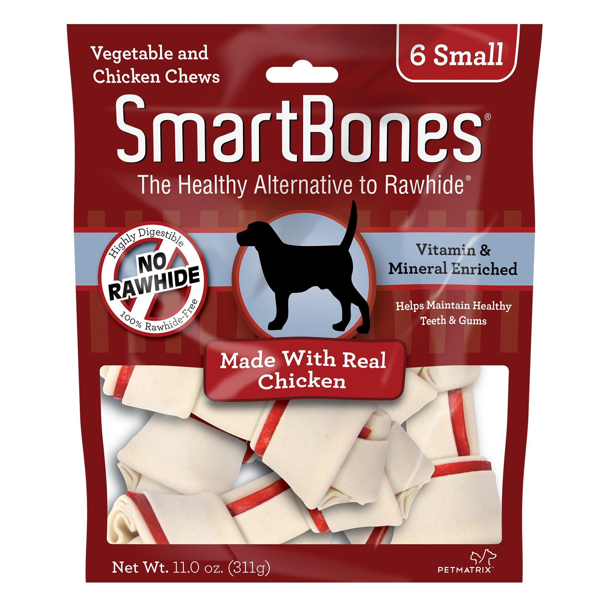 SmartBones NO-RAWHIDE Chicken Small Dog Chews