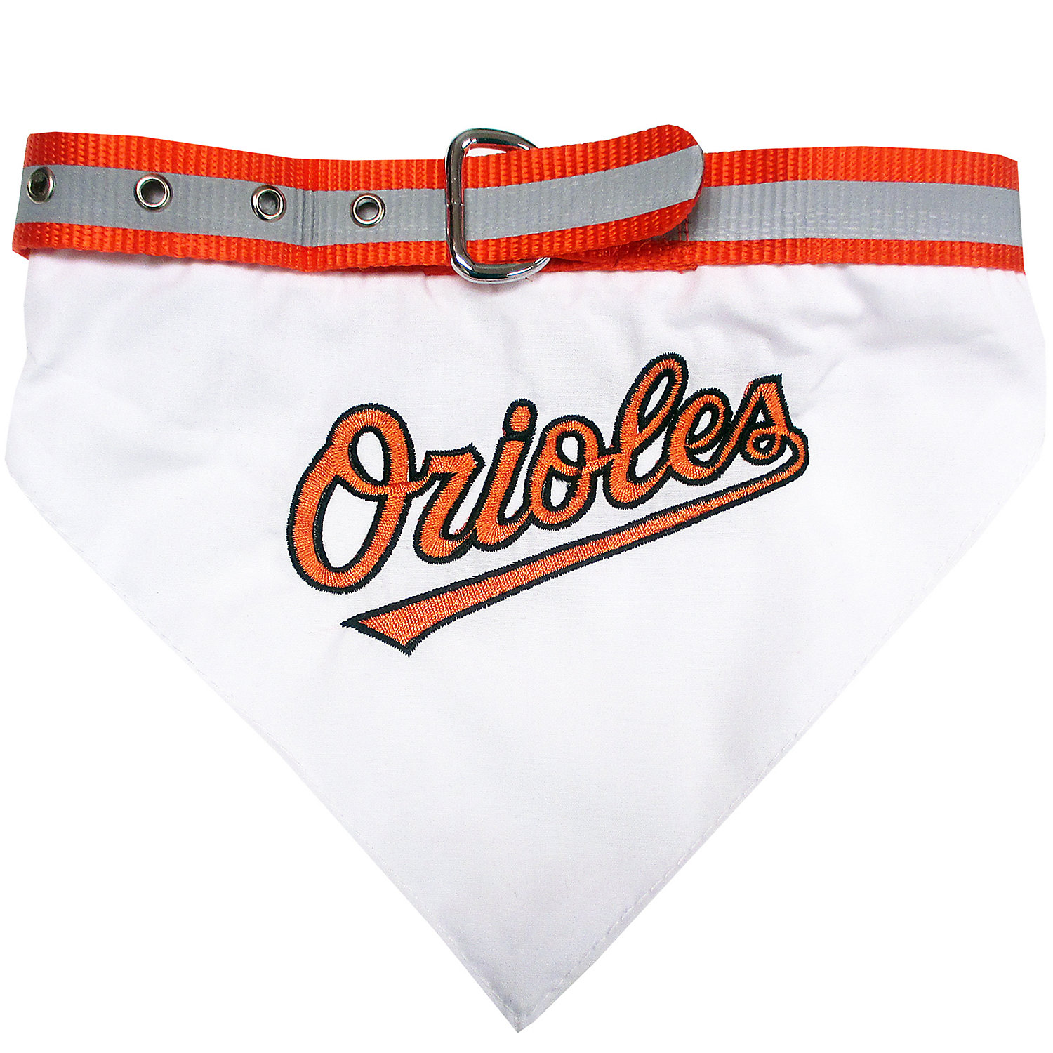 Pets First Baltimore Orioles Collar Bandana